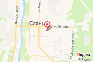 Адрес ГУП Леноблводоканал, Сланцевсткое производственное управление на карте