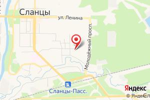 Адрес Канализационная насосная станция на карте