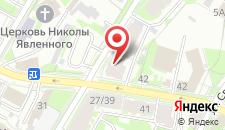 Хостел Петровский на карте