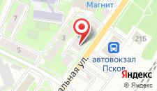 Мини-гостиница Счастливый случай на карте