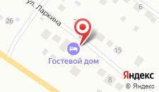 Гостевой дом Гостевой Дом на Ларкина 16 на карте