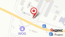 Отель Товмед на карте