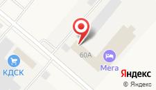 Отель Мега на карте