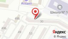 Апартаменты На Парковой на карте