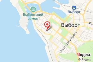 Адрес Газпром газораспределение Ленинградская область, филиал в г. Выборге на карте