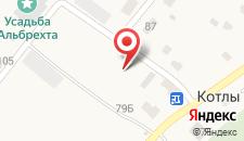 Гостиничный комплекс Усть-Луга на карте