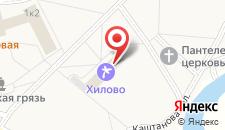 Санаторий ЛПУ Хилово на карте