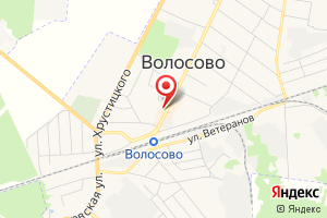 Адрес Газпром межрегионгаз Санкт-Петербург, абонентский пункт в г. Волосово на карте
