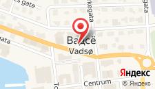 Отель Scandic Vadsø на карте