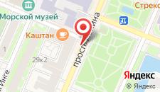 Апартаменты На Ленина 8 на карте