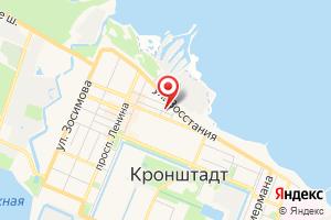 Адрес Энергетическое предприятие Ленсвет Кронштадский эксплуатационный участок на карте