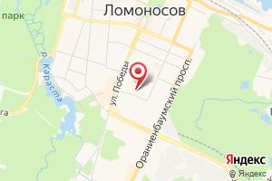 Адрес Петербурггаз, производственно-эксплуатационное управление № 2 на карте