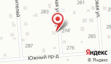 Коттедж В Михайловском на карте