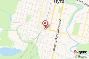 Адрес Лоэск, южный филиал РЭС Луга на карте
