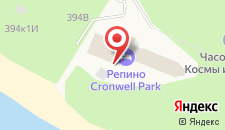 Загородный отель Репино Cronwell Park на карте