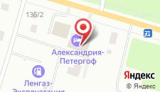 Гостиница Александрия-Петергоф на карте