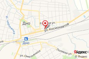 Адрес Газпром межрегионгаз Псков, Абонентский отдел в г. ДНО на карте