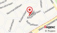 Отель Hotel Bilderdijk на карте