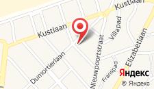 Апартаменты Appartement Sun Corner Deluxe Knokke на карте