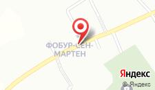 Отель Au Moulin à Paroles на карте