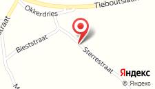 Отель B&B Sterrehof на карте
