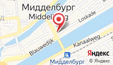 Отель Fletcher Hotel-Restaurant Middelburg на карте