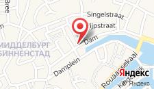 Отель Hotel aan de Dam на карте