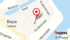 Отель Bed en Brood - Veere на карте