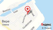 Отель 't Waepen van Veere на карте
