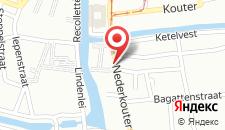 Отель ibis Gent Centrum Opera на карте