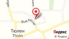 Отель Auberge Le XIX eme на карте