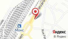 Отель ibis Mons Centre Gare на карте