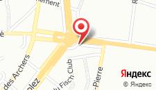 Отель Hotel St James на карте