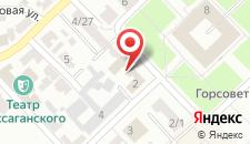Гостиница Киев на карте
