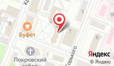Мини-гостиница Александрия на карте
