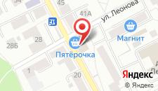 Отель Столица на карте