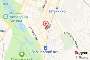 Адрес Газпром газораспределение Ленинградская область, филиал в г. Гатчине на карте