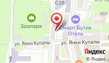 Апартаменты На Суворова на карте