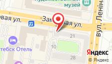 Апартаменты на Замковой на карте