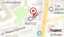 Гостиница Профсоюзная на карте