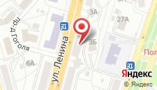 Апартаменты на Ленина 3 на карте