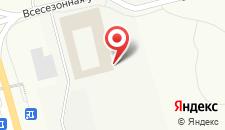 Курортный отель Игора на карте