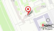 Отель Моне на карте
