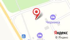 Коттеджный комплекс Черника на карте