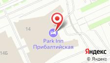 Гостиница Park Inn By Radisson Прибалтийская на карте