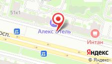 Мини-отель Алекс Отель на Богатырском на карте