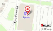 Отель Арена на карте