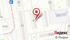Апартаменты Фрунзе 45а на карте
