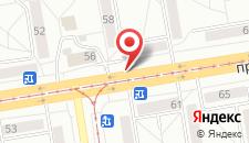 Апартаменты Фрунзе на карте