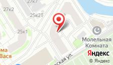Мини-отель Смоленка на карте